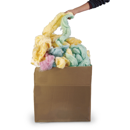 Economy Multicolored Stuffing - 20-lb. Box