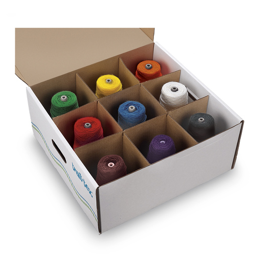 Pacon® Trait-tex® Yarn Dispenser Box - Standard Weight - Bright Colors