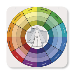 TEaching Color Wheel with Gray Scale