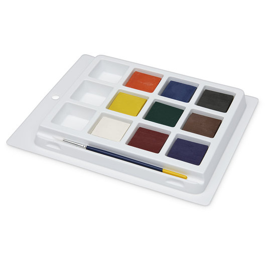 PRANG® Tempera Cakes - Set of 9