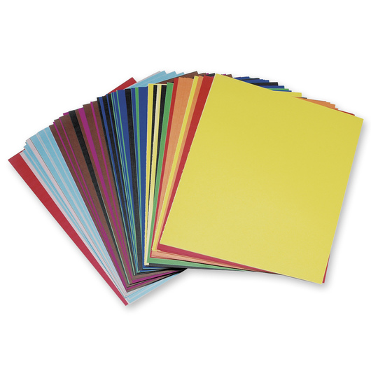 Colored Poster Board Random Assortment Pkg. of 100 22  x 28