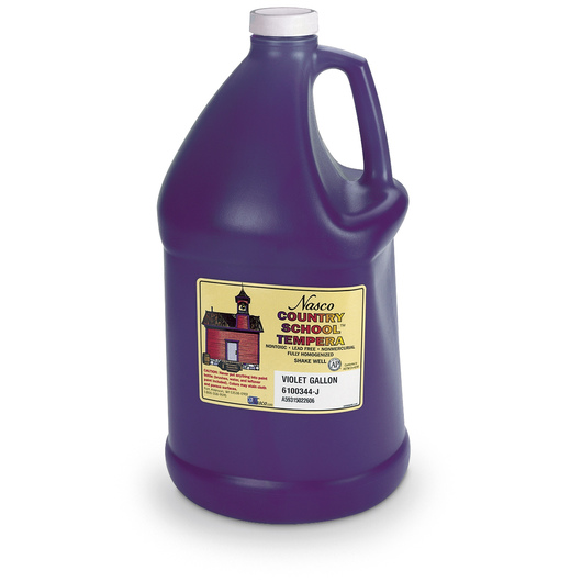 Nasco Country School™ Tempera Paint - Violet - Gallon