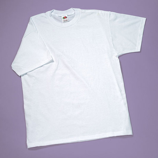 Fruit of the Loom® White T-Shirt - Adult Size Large (42-44)