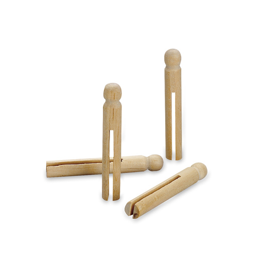 Pacon® Wooden Doll Pins - Pkg. of 30
