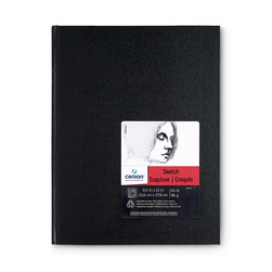 Canson® Basic Bound Sketchbook - 108 Sheets - 8-1/2 in. x 11 in. - 65 lb.