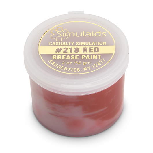 Grease Paint - 2 oz. - Red