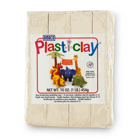 Modeling Clay - Cream - 1 lb.