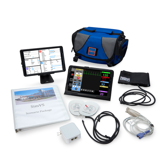 SimVS Simulation Platform - SimVS Hospital Monitor and Defibrillator