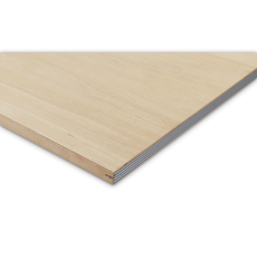 Softwood Drawing Board - 18 in. x 24 in. x 3/4 in. Thick, Metal Edge