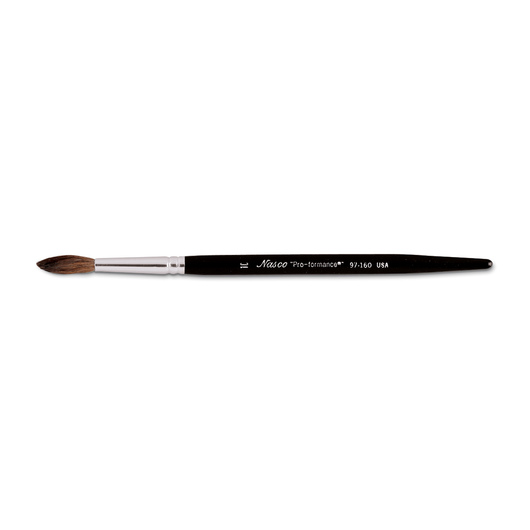"Nasco ""Pro-formance™"" Pony Hair Watercolor Brush - Size 10"