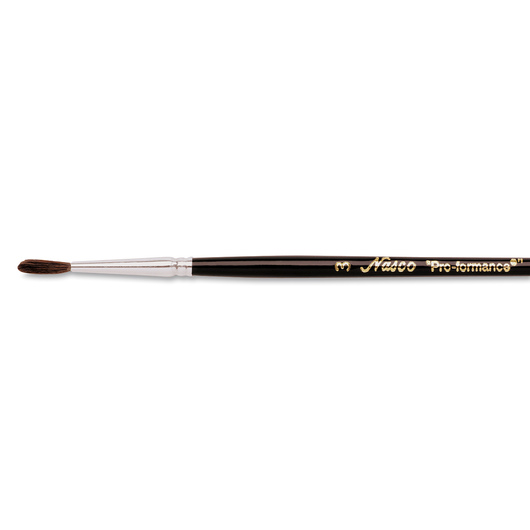 "Nasco ""Pro-formance™"" Watercolor Brush - Size 3"