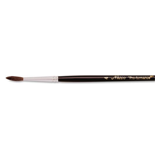 "Nasco ""Pro-formance™"" Watercolor Brush - Size 4"