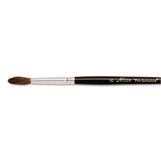 Nasco <q>Pro-formance™</q> Watercolor Brush - Size 8