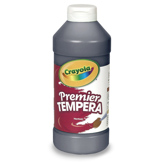 Crayola® Premier™ Tempera Paint - Black - Pint