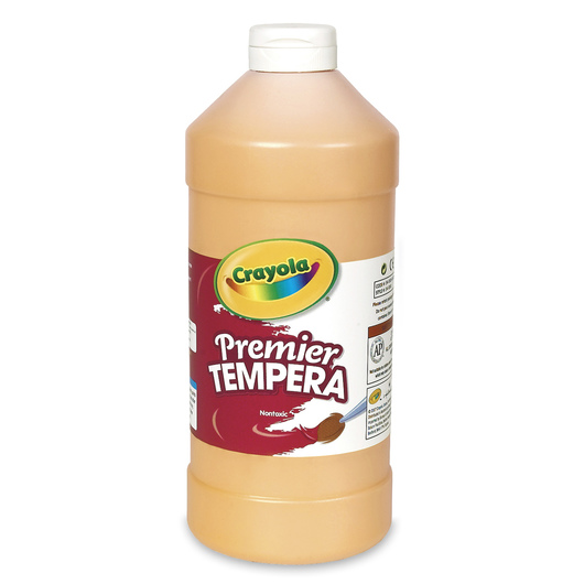 Crayola® Premier™ Tempera Paint - Peach - Quart