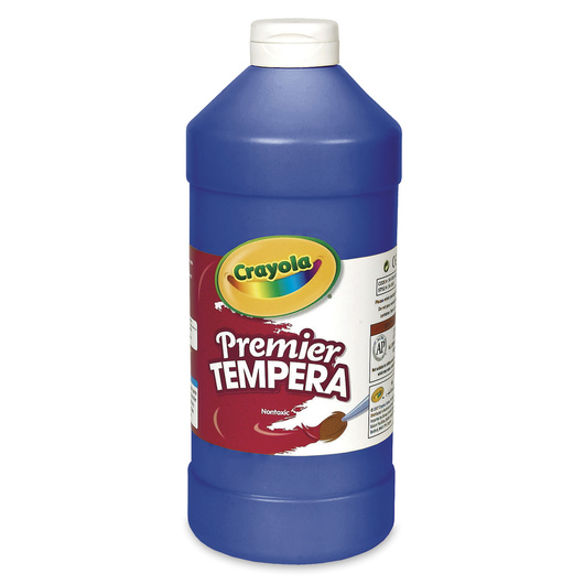Crayola® Premier Tempera Paint - Blue - Quart