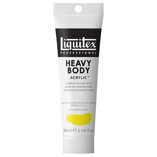 Liquitex® Heavy-Body Acrylic Paint - 2-oz. Tube - Cadmium Yellow Light