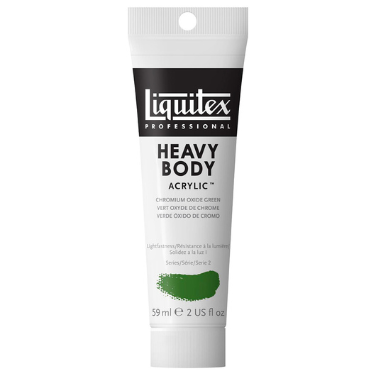 Liquitex® Heavy-Body Acrylic Paint - 2-oz. Tube - Chromium Oxide Green