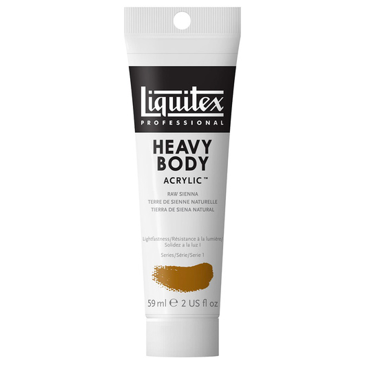 Liquitex® Heavy-Body Acrylic Paint - 2-oz. Tube - Raw Sienna
