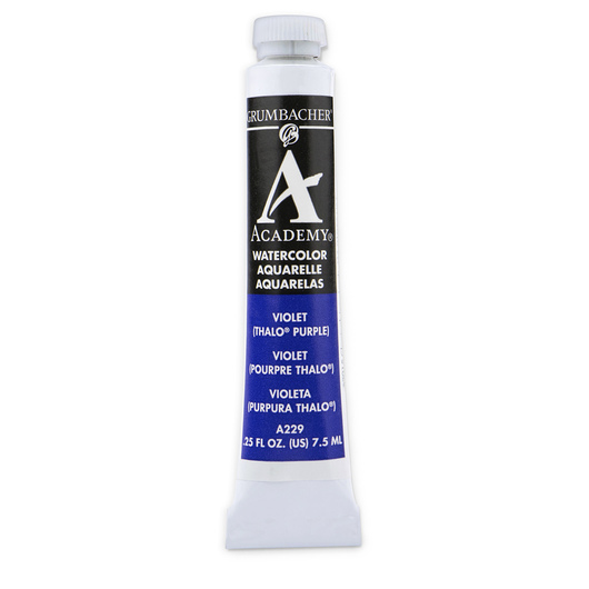 Grumbacher® Academy® Watercolor - 0.25 oz. (7.5 ml) - Thio™ Violet