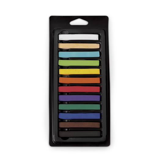 Quartet® Alphacolor® Soft Square Pastels - 12-Color Set