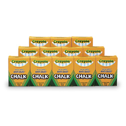 Crayola® White Anti-Dust Chalk - Box of 144