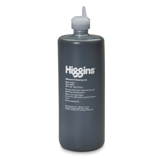 Higgins® Waterproof Black India Ink - Quart