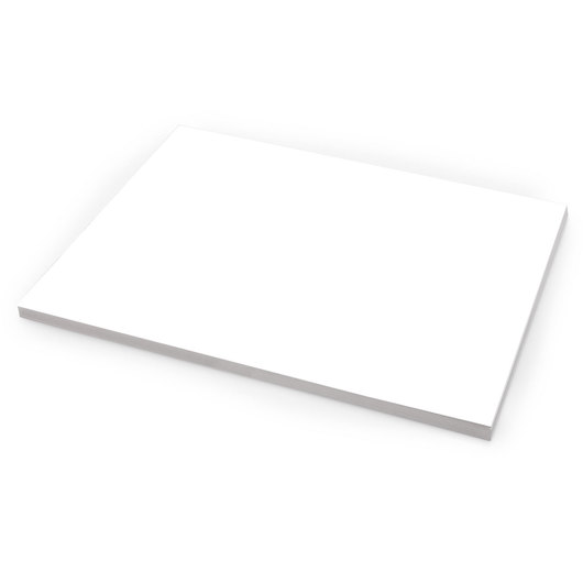 3-Ply White Bristol Board - Pkg. of 500, 80 lb.