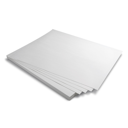 White Tag Board - 22-1/2 in. x 28-1/2 in. - Medium - Pkg. of 500