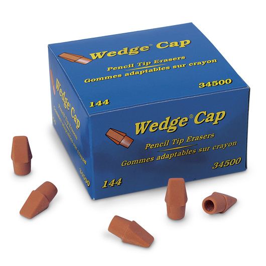 Dixon® Wedge Erasers - Box of 144