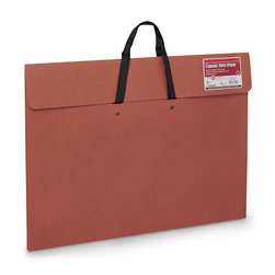 Star Products ™ Dura-Tote™ Red Wallet Artist's Portfolio with Handle - 17 in. x 22 in.