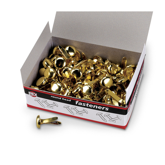 Paper Fasteners - 1/2 in. - Box of 100