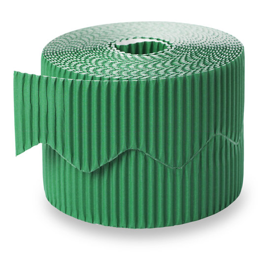 Pacon® Bordette® Roll - 2-1/4 in. x 50 ft. - Emerald Green