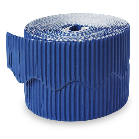 Pacon® Bordette® Roll - 2-1/4 in. x 50 ft. - Rich Blue