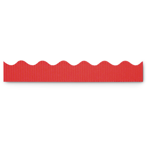 Pacon® Bordette® Roll - 2-1/4 in. x 50 ft. - Flame Red