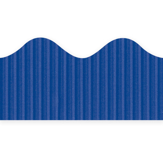 Pacon® Bordette® Roll - 2-1/4 in. x 50 ft. - Royal Blue