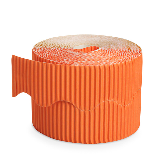 Pacon® Bordette® Roll - 2-1/4 in. x 50 ft. - Orange