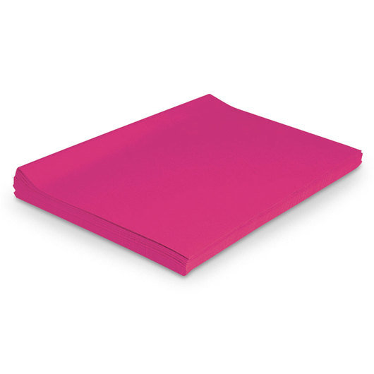 Pacon® Spectra® Deluxe Bleeding Art Tissue™ - Pkg. of 24 - 20 in. x 30 in. - Magenta