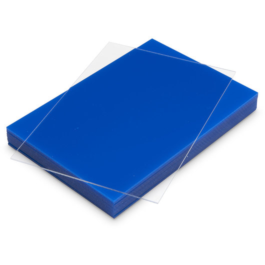 Plastic Etching Plates - 5 in. x 7 in. x .050