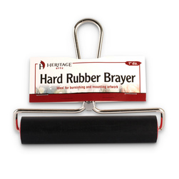 Alvin® Heritage Arts™ - Lightweight Hard Rubber Brayer - 6 in.