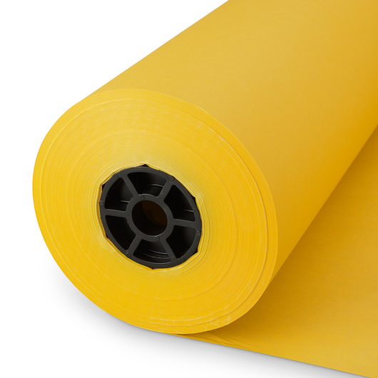 Pacon® Rainbow® Colored Kraft Duo-Finish® Paper Roll - Canary