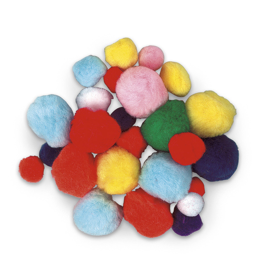 Pom-Poms - Bag of 300