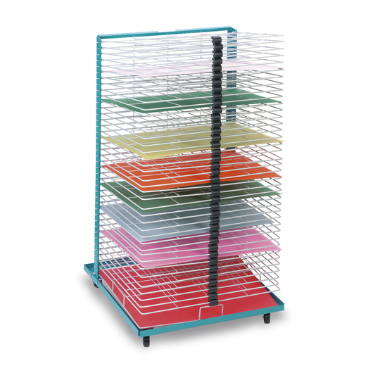 A.W.T. Port-O-Rack Drying Rack - 40 Shelves - Shelves Measure 18 x 24