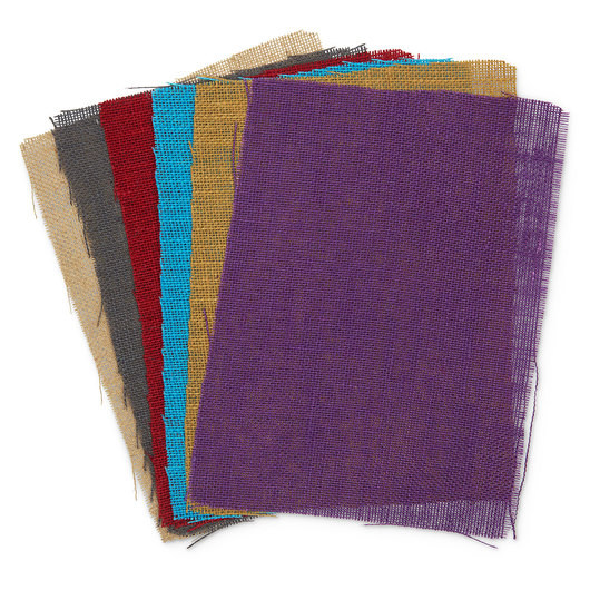 Craft Burlap Sheets - 9 in. x 12 in. - Pkg. of 6
