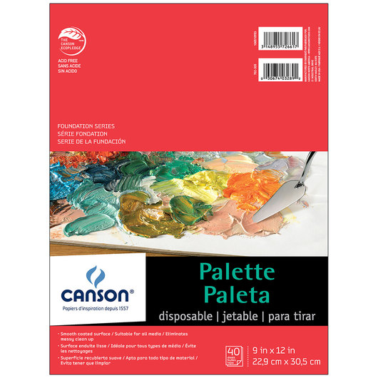 Canson® Disposable Palette - 9 in. x 12 in.