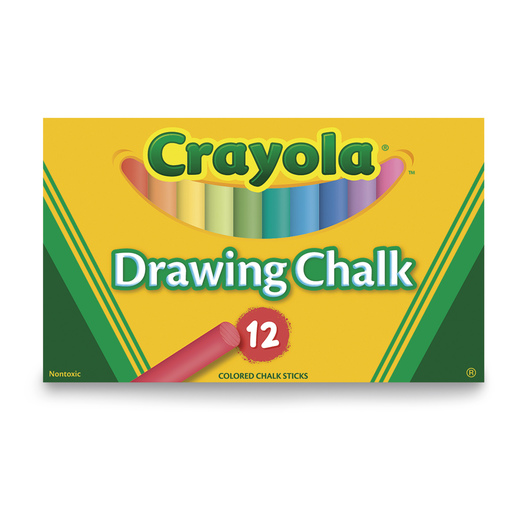 Crayola® Colored Drawing Chalk - Box of 12