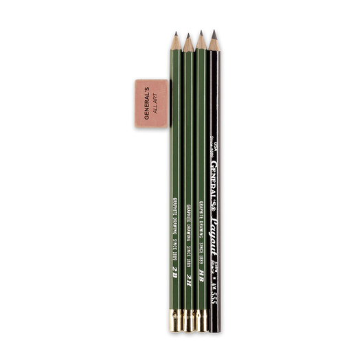 GENERAL'S® Graphite Pencil Kit