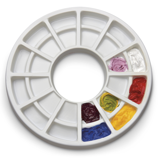 Bank™ 24-Well Slant Palette for Paint Senior