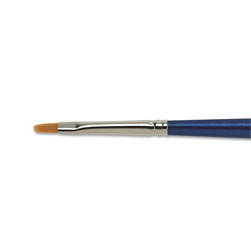 Nasco <q>Pro-formance™</q> Taklon Brush - Flat Size 2