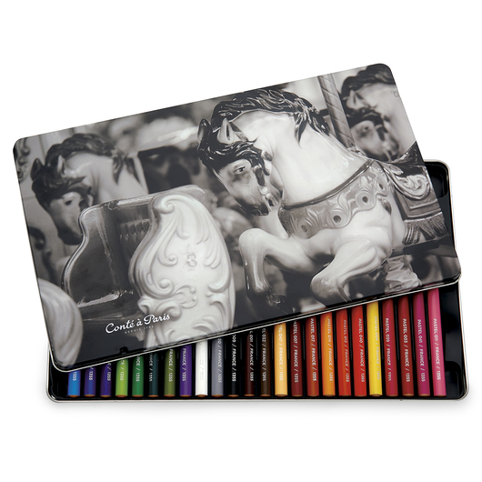 Conté à Paris™ Pastel Pencils - Set of 24